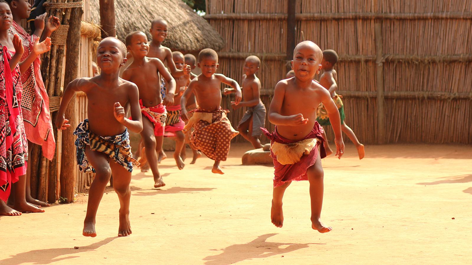 Kinder in Eswatini