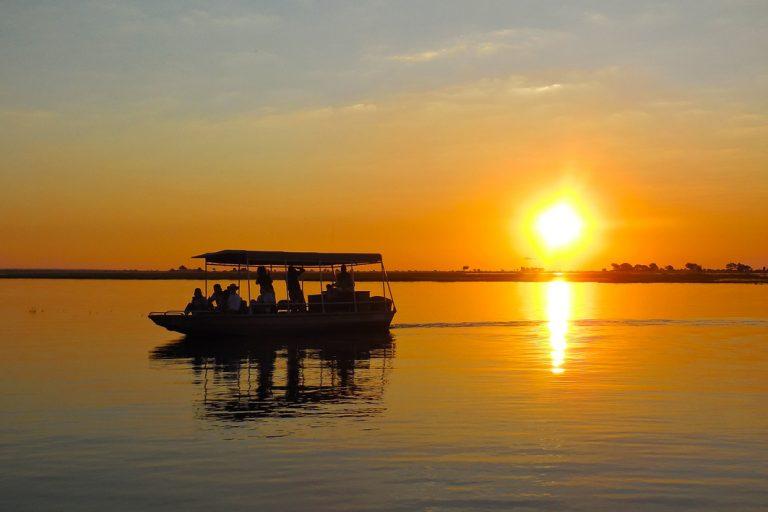 Flusssafari im Chobe Nationalpark