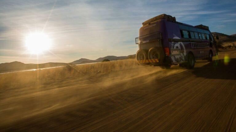 Mit dem Overland-Truck durch die Weiten Afrikas