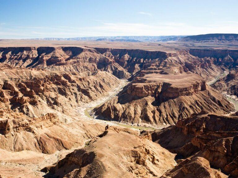 Der beeindruckende Fish River Canyon