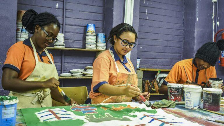 Besuch des !Khwa ttu San Culture and Education Centre