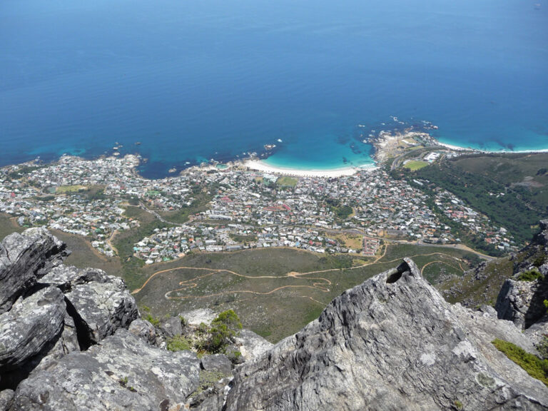 Atemberaubende Aussicht vom Tafelberg