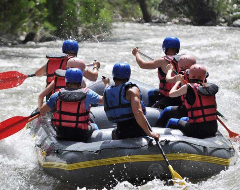 Rafting in Brotas