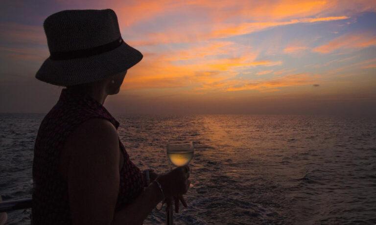 Sonnenuntergänge auf dem Meer erleben