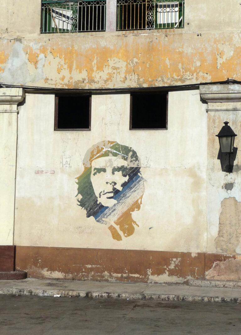 Che Guevara ist allgegenwärtig