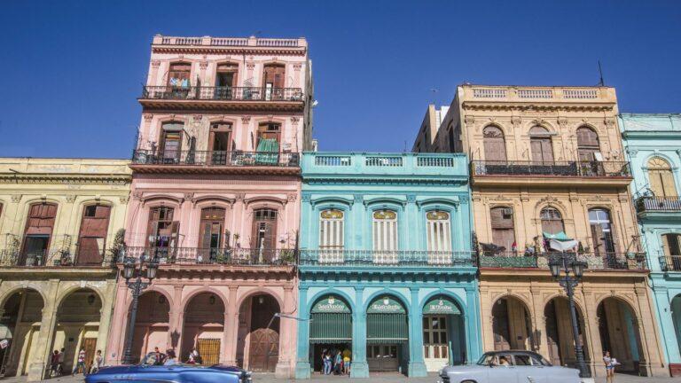 Farbenfrohe Häuser