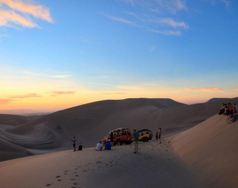 Eine Buggytour durch die Sanddünen