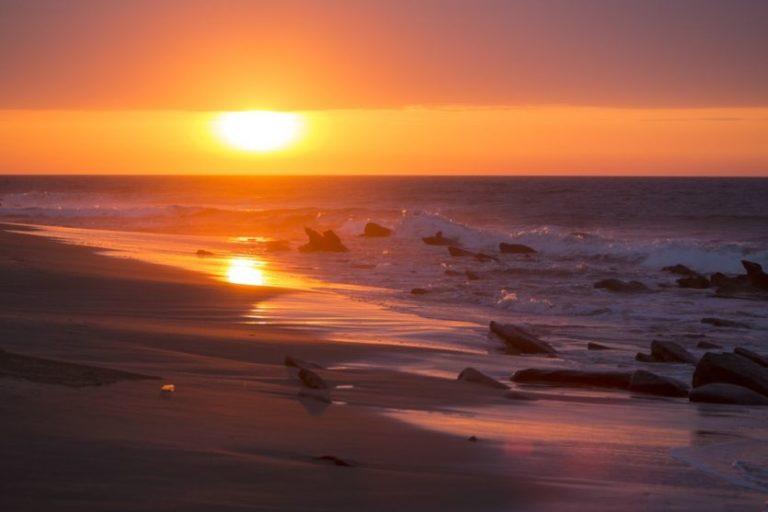 Pittoreske Sonnenuntergänge genießen