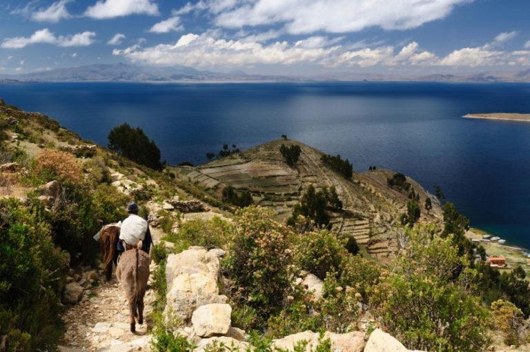 Mystische Isla del Sol im Titicacasee