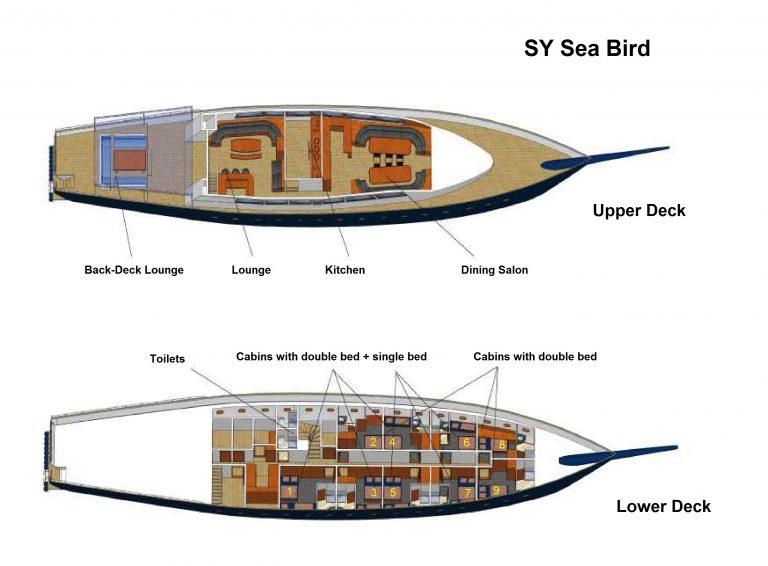 Grundriss Sea Bird