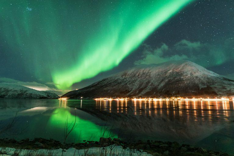 Das Naturspektakel der Nordlichter erleben