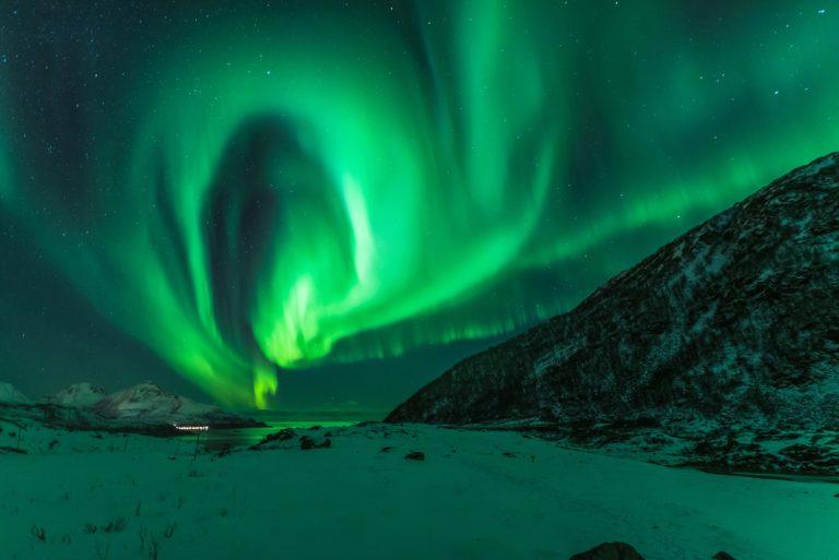 Aurora Borealis in Aktion