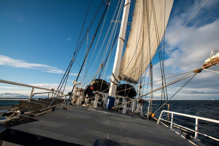 Die Segel sind gesetzt für das Abenteuer