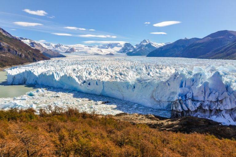 Der imposante Perito Moreno Gletscher