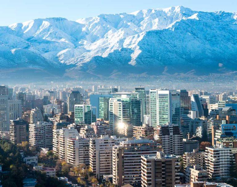 Die kosmopolitische Hauptstadt Santiago de Chile