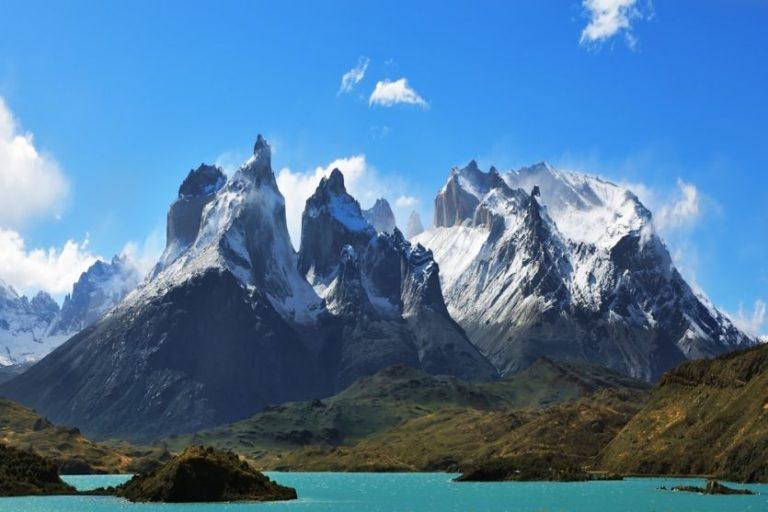Die spektakuläre Berglandschaft des Torres del Paine Nationalparks
