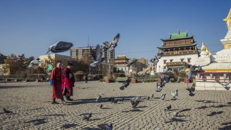 Die Tempelanlagen von Ulan Bator erkunden