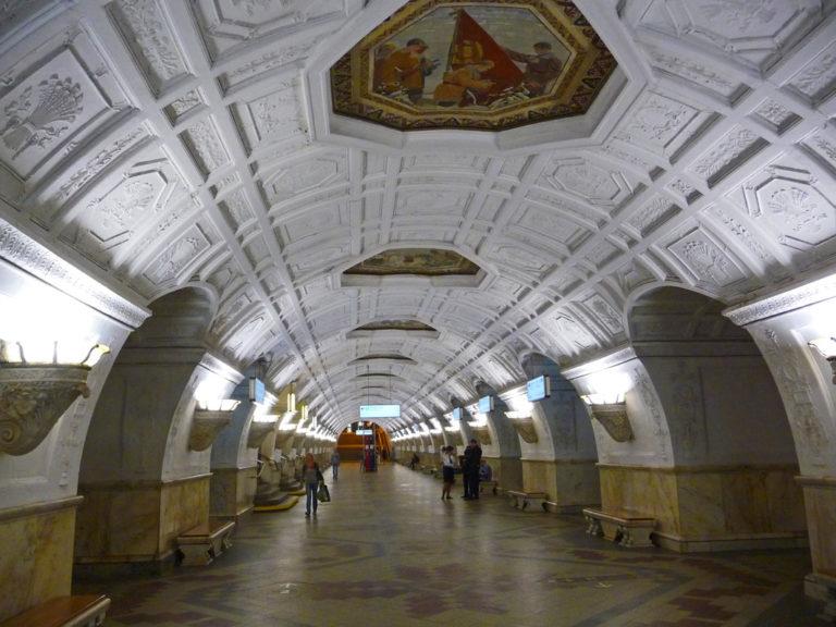 Moskaus U-Bahn-Stationen sind allesamt Kunstwerke