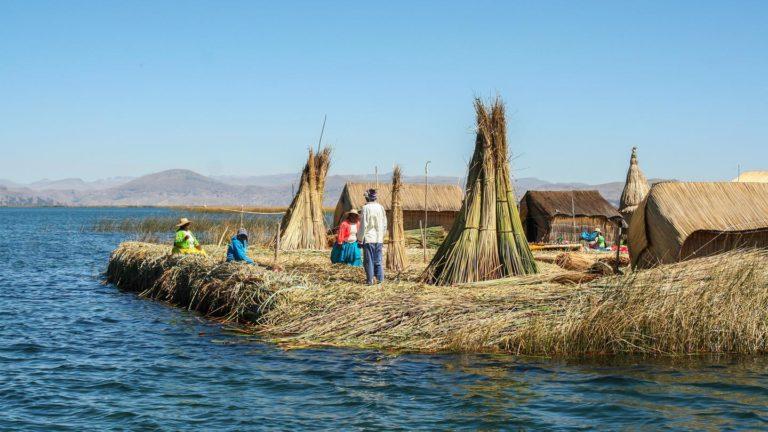 Die schwimmenden Inseln des Titicacasees