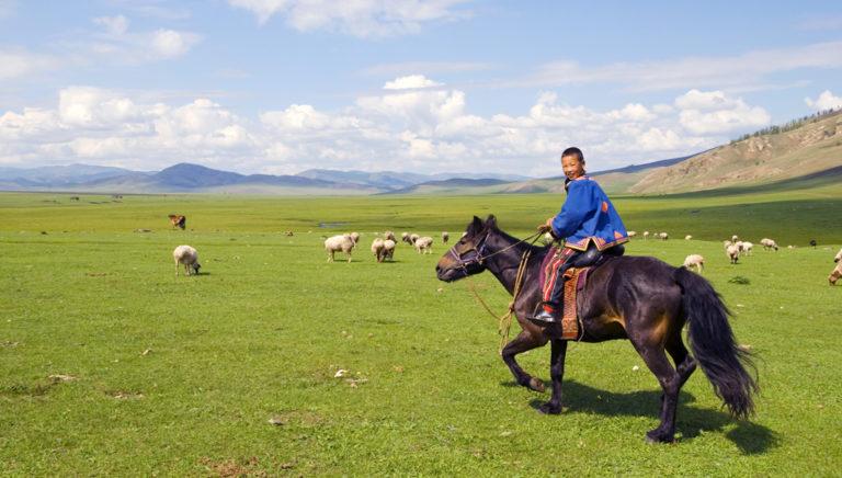 In das Leben der Nomaden eintauchen
