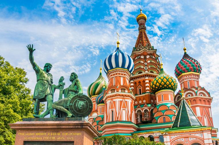 Das Wahrzeichen von Moskau: Die Basilius-Kathedrale