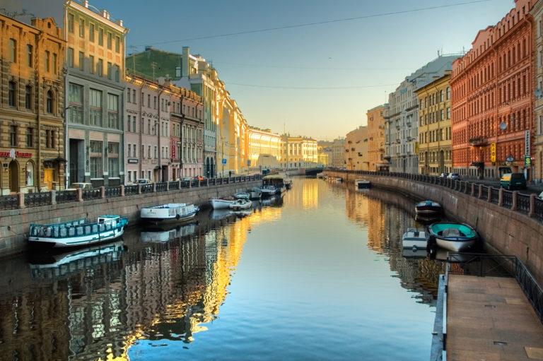 St. Petersburg – das Venedig des Ostens