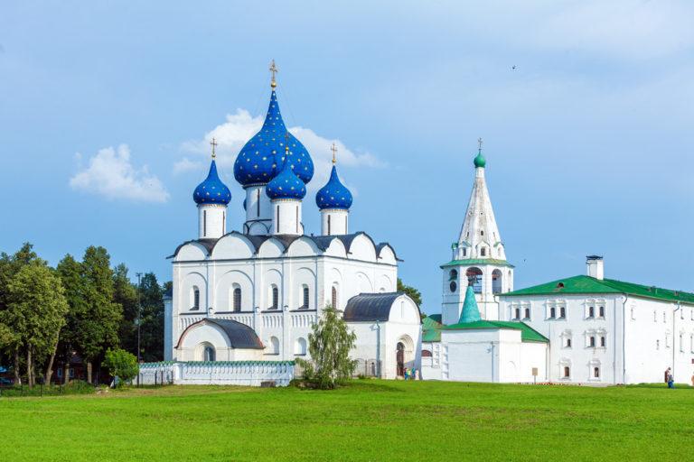 Die Muttergottes-Geburts-Kathedrale in der geschichtsträchtige Stadt Susdal