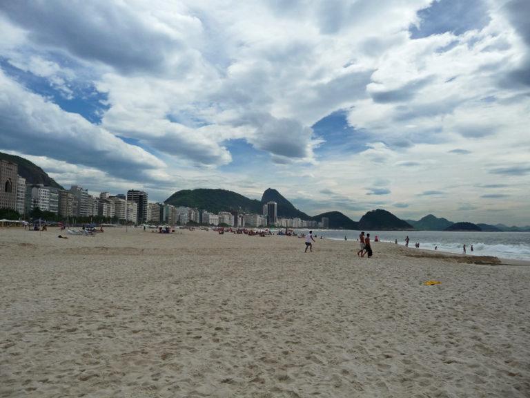 Entspannen an der Copacabana