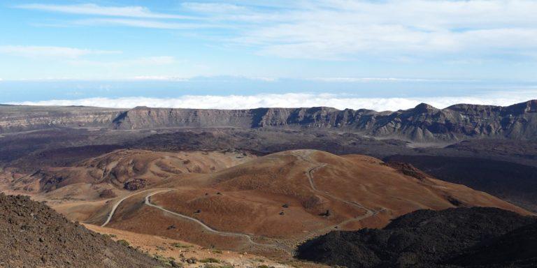 Malerische Vulkanlandschaften