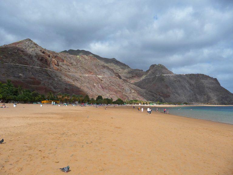 Entspannte Strandabschnitte