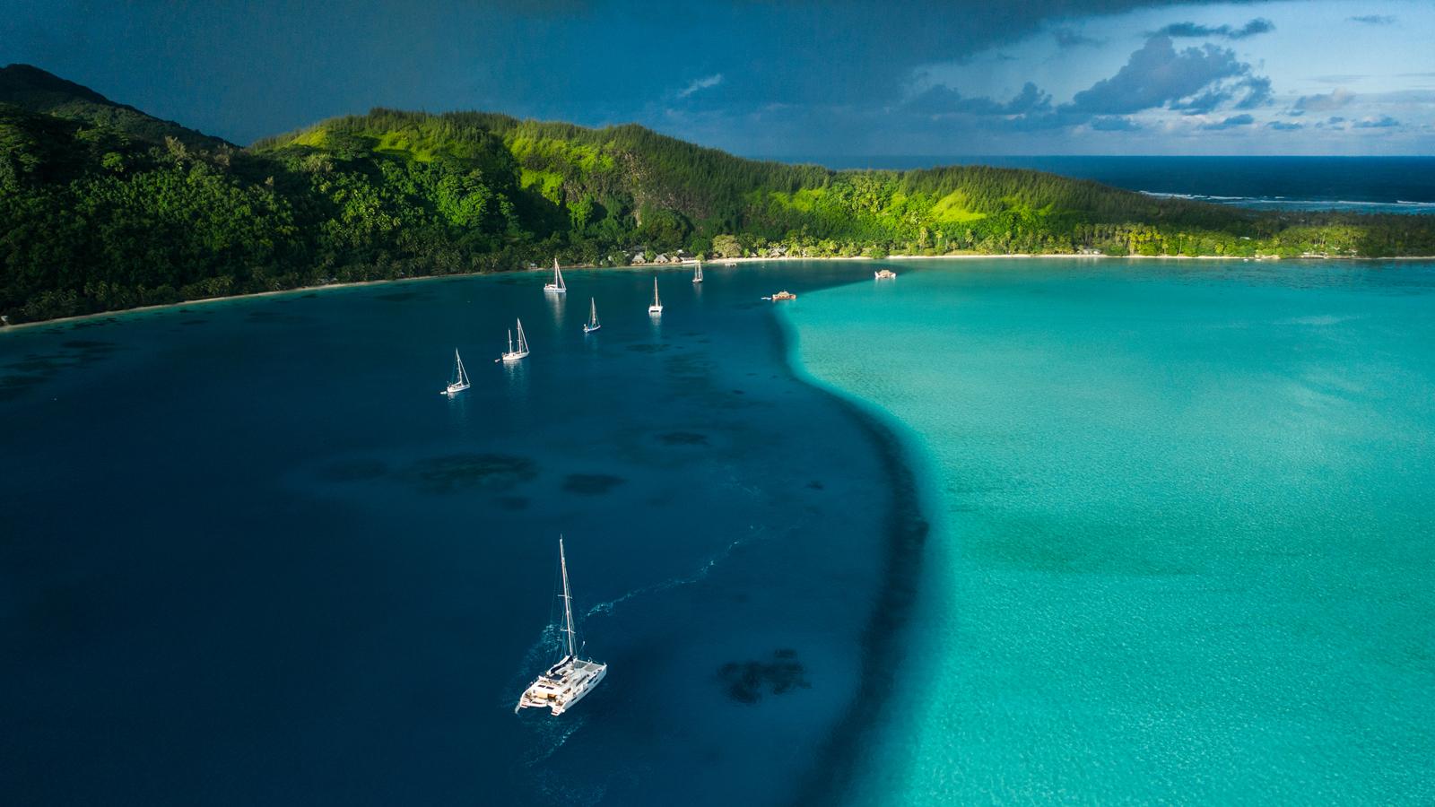 Französisch-Polynesien Segeltörn ein wahrgewordener Südsee-Traum Segelurlaub traveljunkies