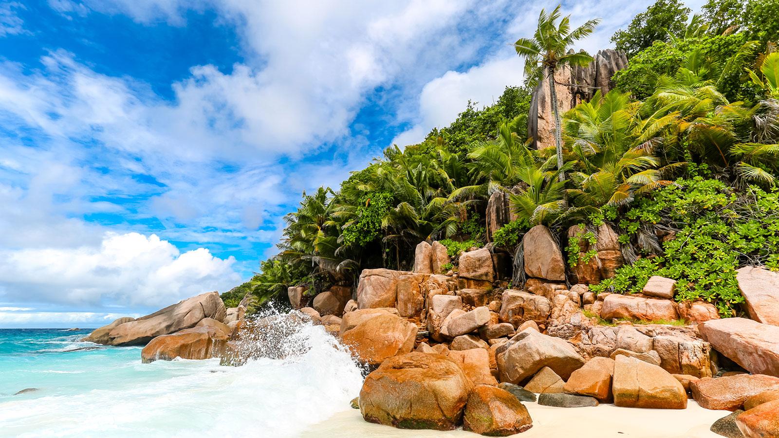 Segeltörn Seychellen Inselhüpfen