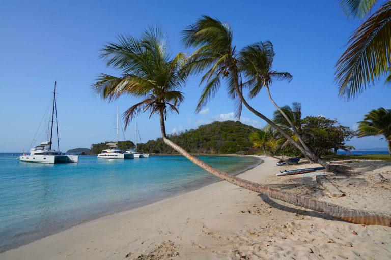 Wunderschöne Buchten der Grenadinen