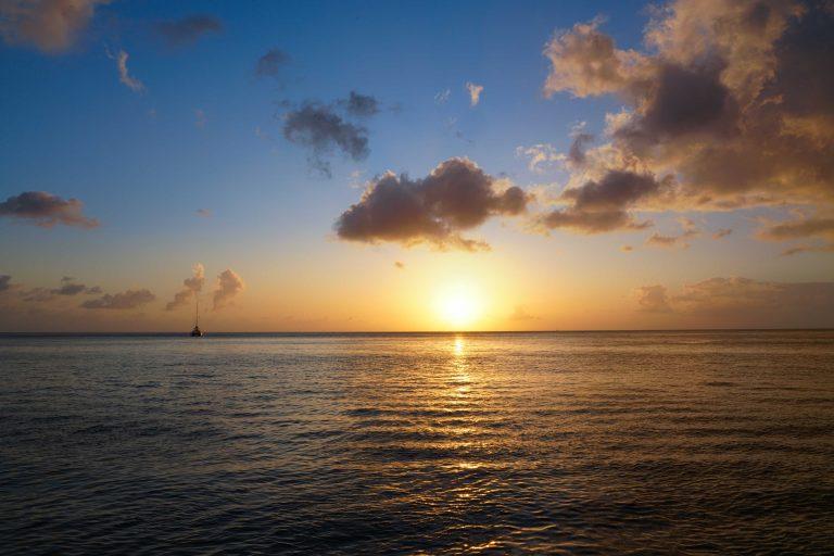 Der Sonne entgegen segeln