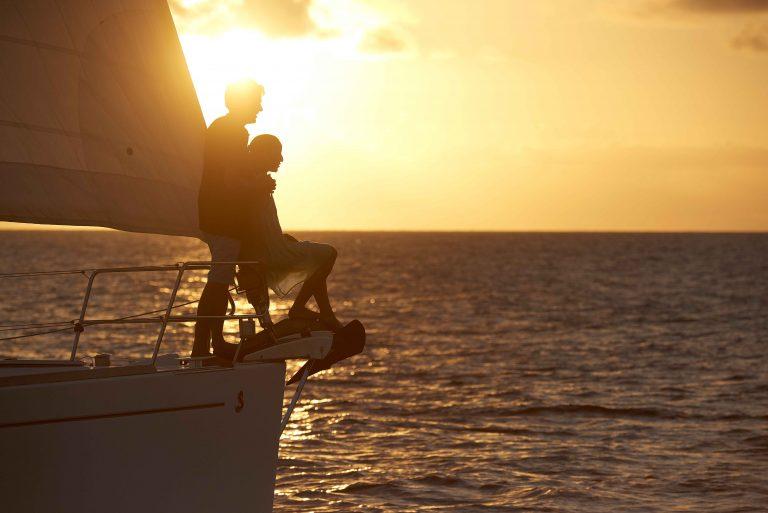 Intensive Sonnenuntergänge