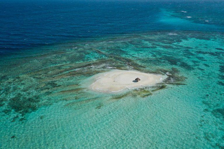 Relaxen auf einsamen Inseln