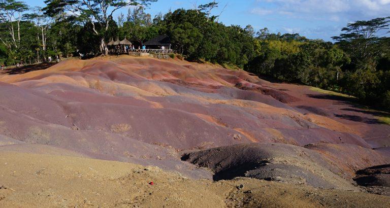 Die siebenfarbige Erde von Chamarel