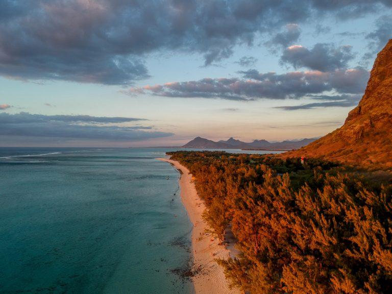 Abendstimmung auf Mauritius
