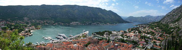 Die beeindruckende Bucht von Kotor