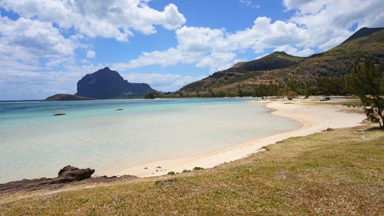 Einsame Bucht auf Mauritius
