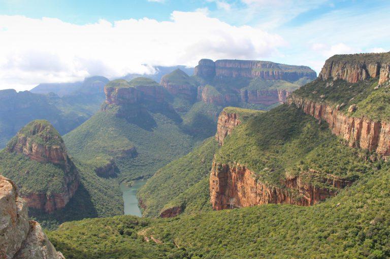 Blick in den beeindruckenden Blyde Canyon