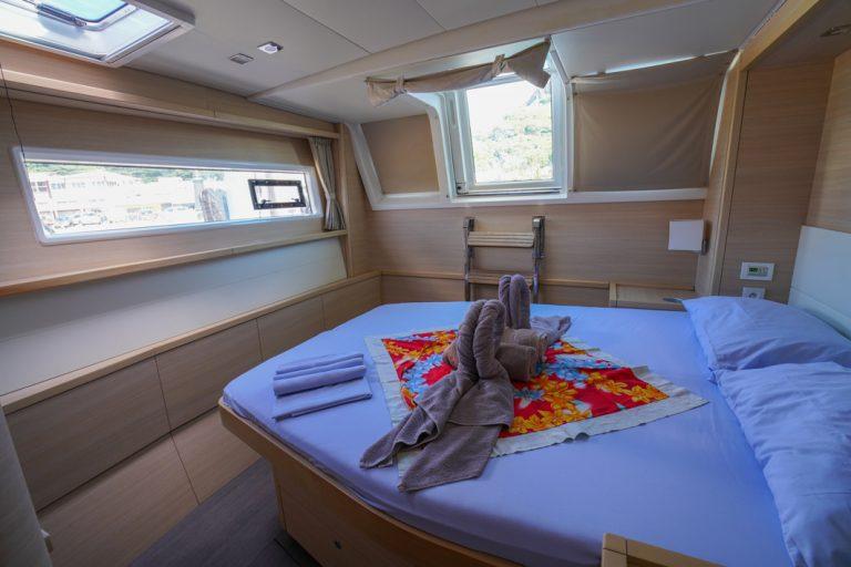 Kabine auf der Lagoon 620