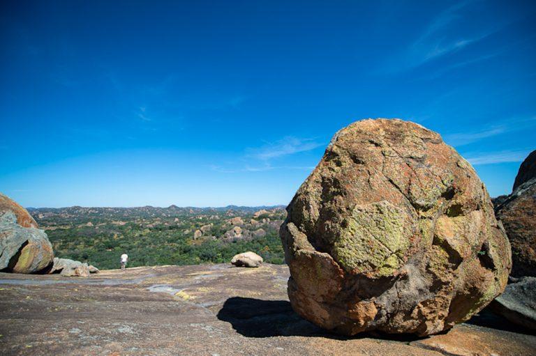 Bizarre Granitfelsen im Matobo Nationalpark