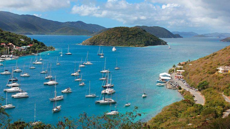Yachthafen auf den Britischen Jungferninseln