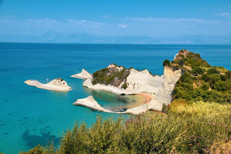 Kap Drastis auf Korfu