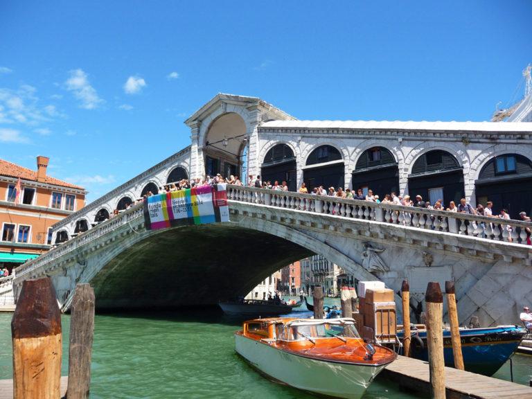 Die berühmte Rialtobrücke