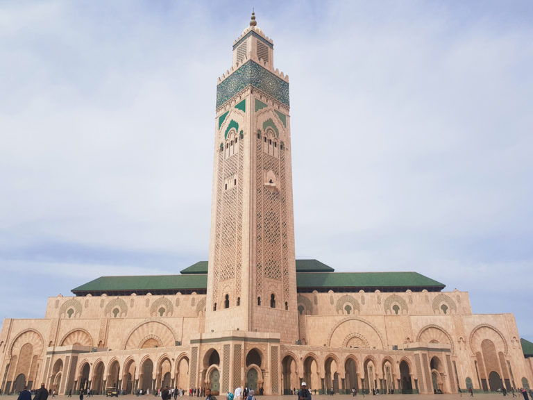 Casablancas beeindruckende Hassan II Moschee