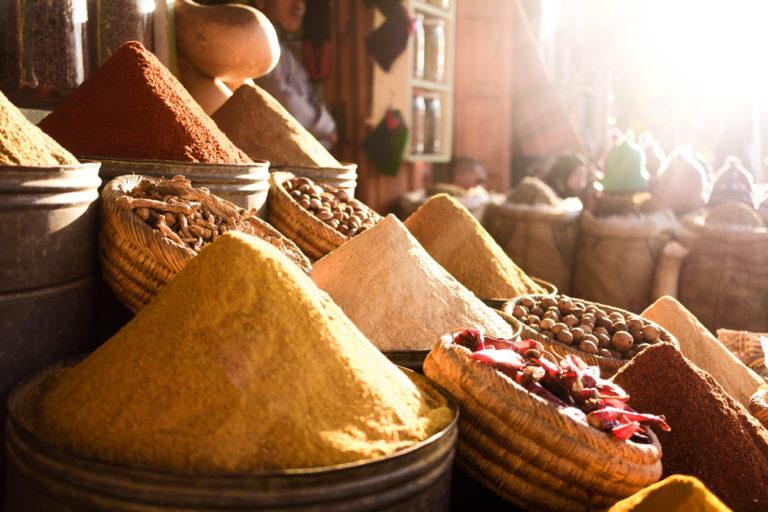 Die Vielfalt der marokkanischen Gewürze entdecken