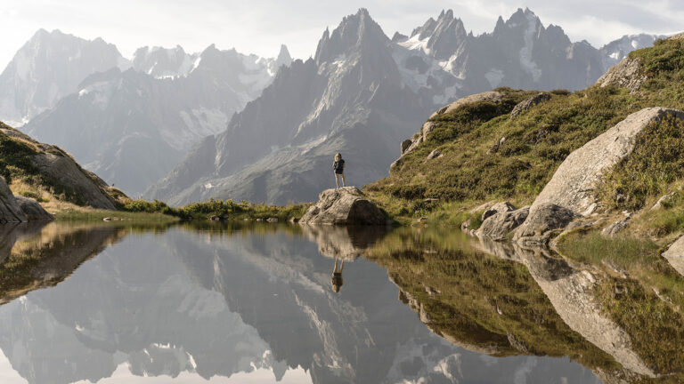 Wanderurlaub in Frankreich, Italien und der Schweiz: der Mont Blanc