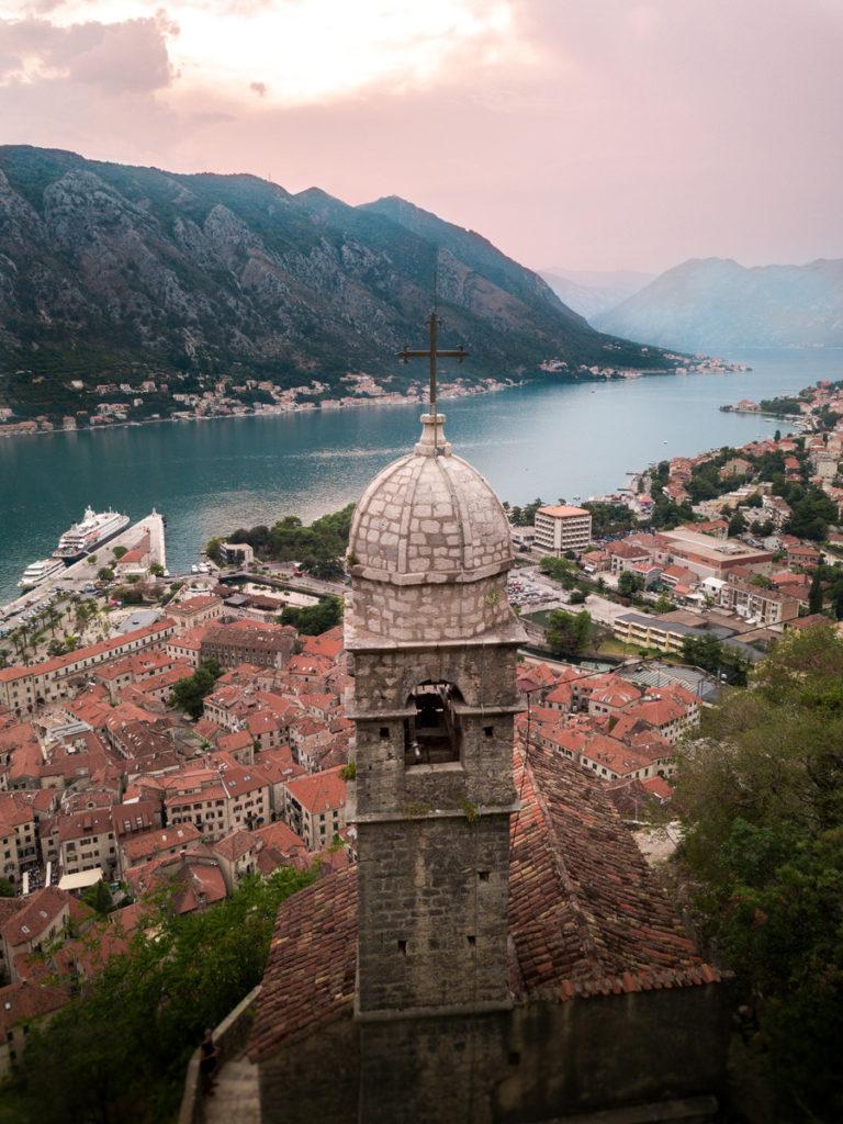 Abendstimmung in Montenegro